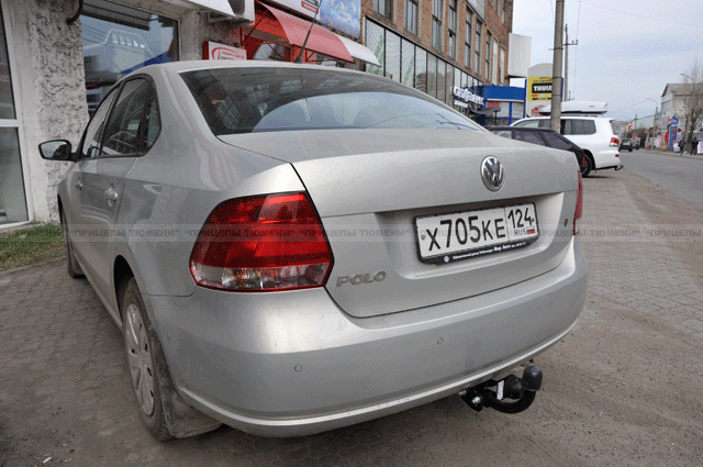 Фаркоп VW Polo SD 2010- BOSAL 2193-A - фото 7